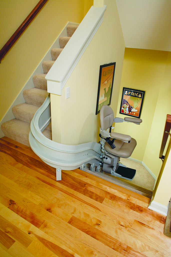 Indy Curve Stair Lift Curved Stair Lifts Custom